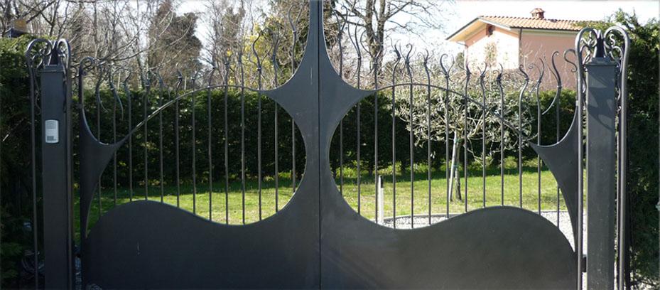 Cancello fatto a mano in toscana