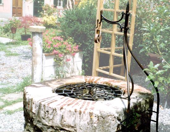 Pozzi Decorativi Da Giardino : Pozzi da giardino trendy arco per pozzo modello numa pompilio