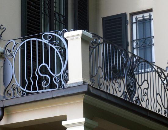 Assez Galleria arredi per il giardino - Balconi e Ringhiere - Ferro D' Arte BI11