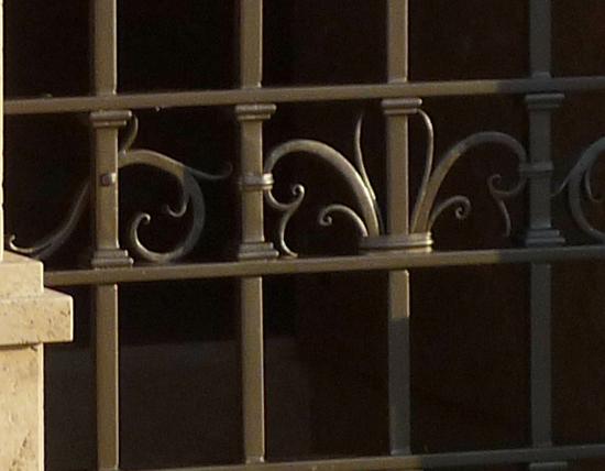 Inferriata ferro d 39 arte - Inferriata porta ...