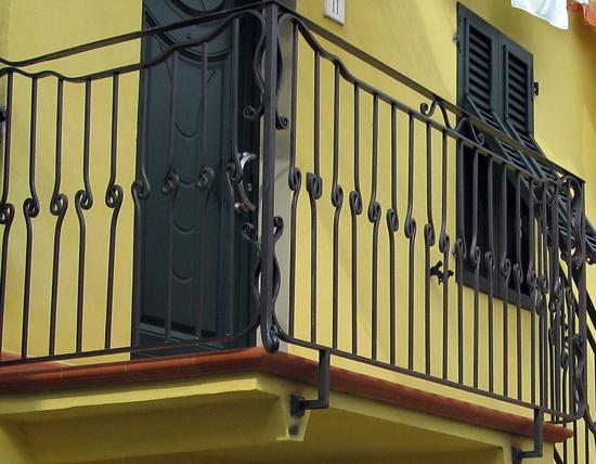 Ringhiera terrazzo - Ferro D\' Arte
